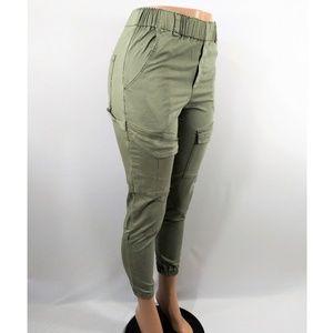 Young Fabulous & Broke Light Green Cargo Pants